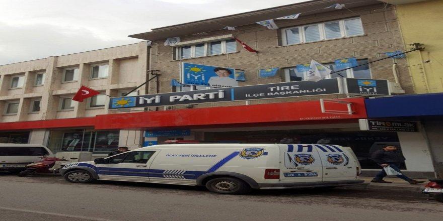 İyi Parti İlçe Başkanına silahlı saldırı girişimi