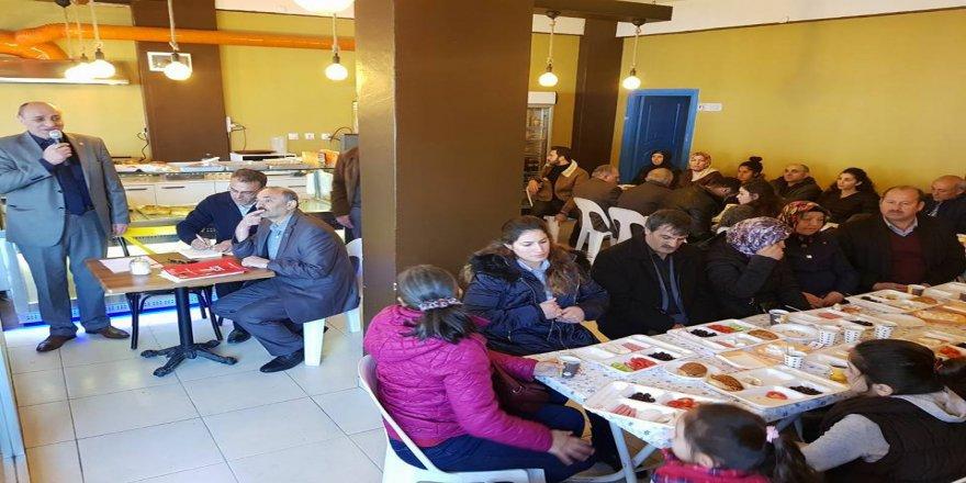 CHP Gebze İlçe teşkilatı halkla buluştu