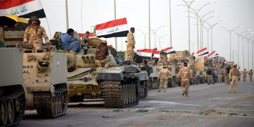 """Erdoğan """"Operasyon başladı"""" dedi Irak Ordusu iki koldan harekete geçti"""