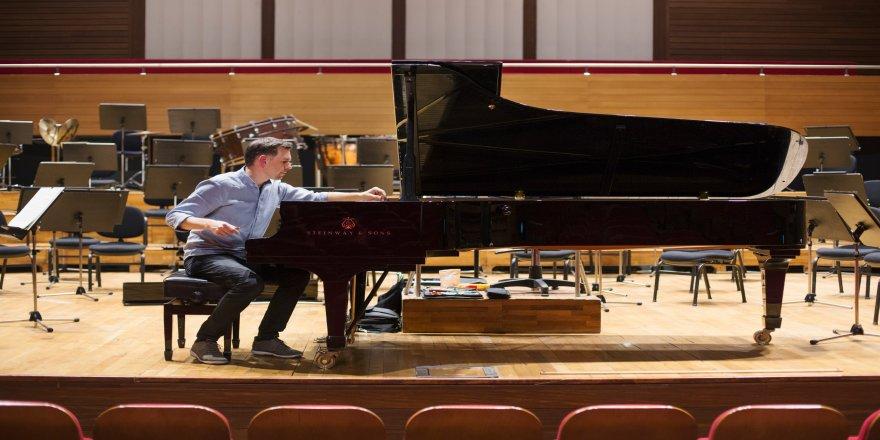 Saygun'un piyanolarına Alman bakımı
