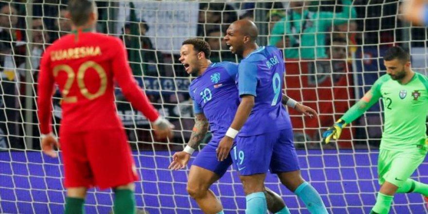 Hollanda, Portekiz'i dağıttı!