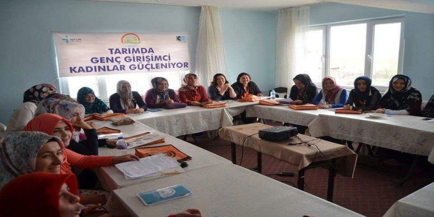 'Tarımda kadın girişimciliğin güçlendirilmesi' eğitimi