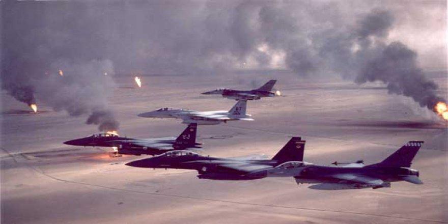 ABD Jetleri Libya'yı Vurdu!