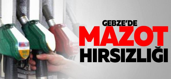 GEBZE'DE MAZOT HIRSIZLIĞI