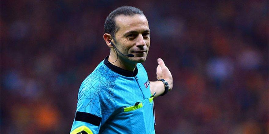 Türkiye Kupası'nda final Cüneyt Çakır'ın