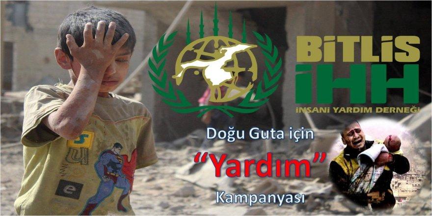 """İHH'dan """"Doğu Guta"""" için yardım kampanyası"""