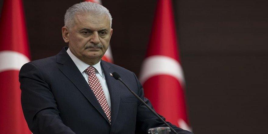 Başbakan'dan Aliyev'e tebrik