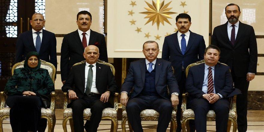 Erdoğan, Irak Büyükelçisini kabul etti