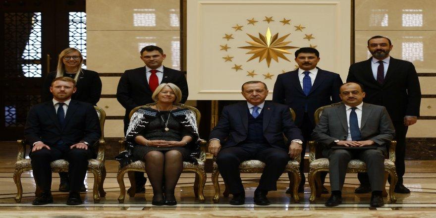 Cumhurbaşkanı Erdoğan, Yeni Zelanda Büyükelçisini kabul etti