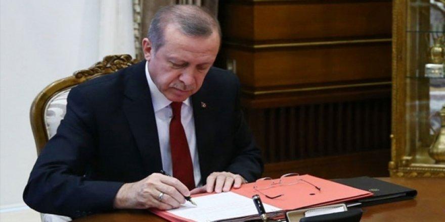 Erdoğan, 10 maddelik uyum yasasını onayladı