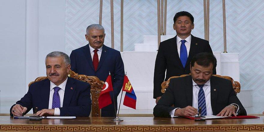 Türkiye ve Moğolistan arasında 7 anlaşma imzalandı