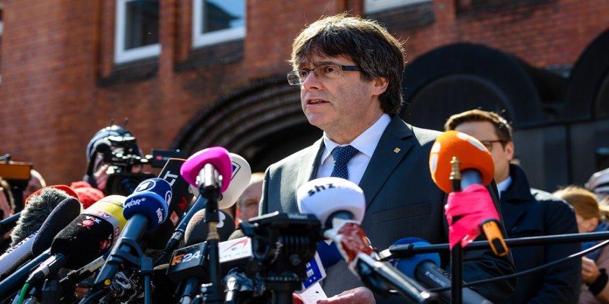Eski Katalan lider, hapishaneden ayrıldı