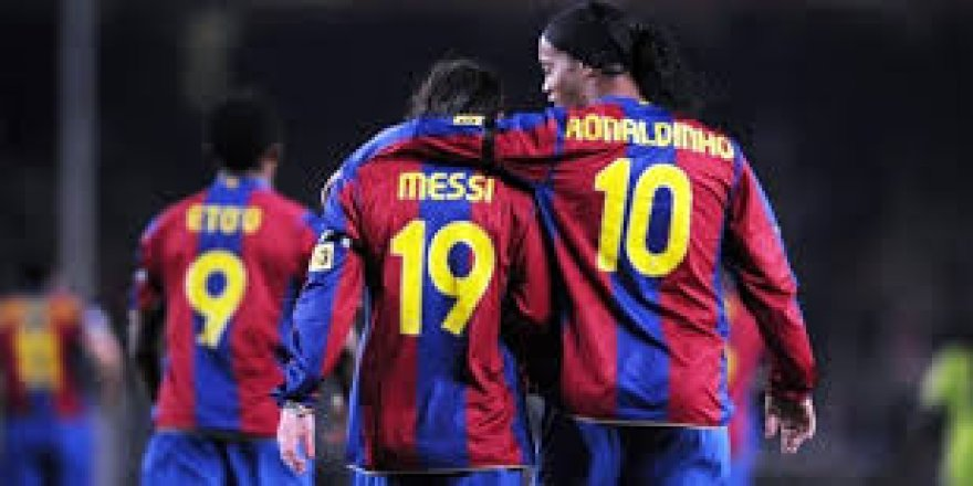 Ronaldinho'dan itiraf