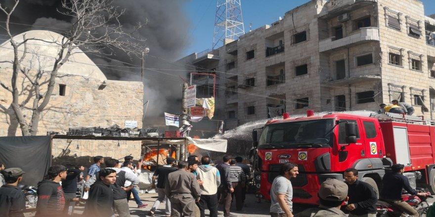 El Bab'da büyük patlama