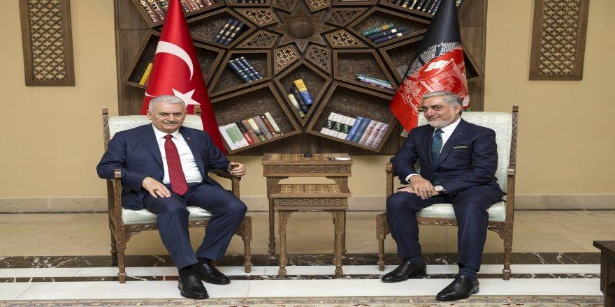 Başbakan Yıldırım, İcra Heyeti Başkanı Abdullah ile bir araya geldi