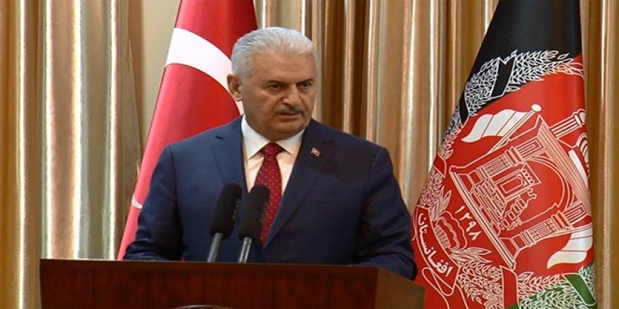 Binali Yıldırım, Afganistan ziyaretinin amacını açıkladı