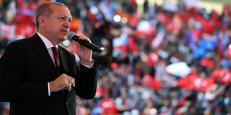 Cumhurbaşkanı Erdoğan,''sözün bittiği yere geldik''