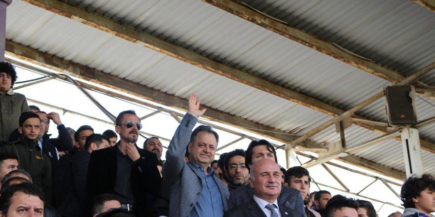 İyi Parti İl Başkanı, Serdar Kaman Gebzespor Maçını İzledi