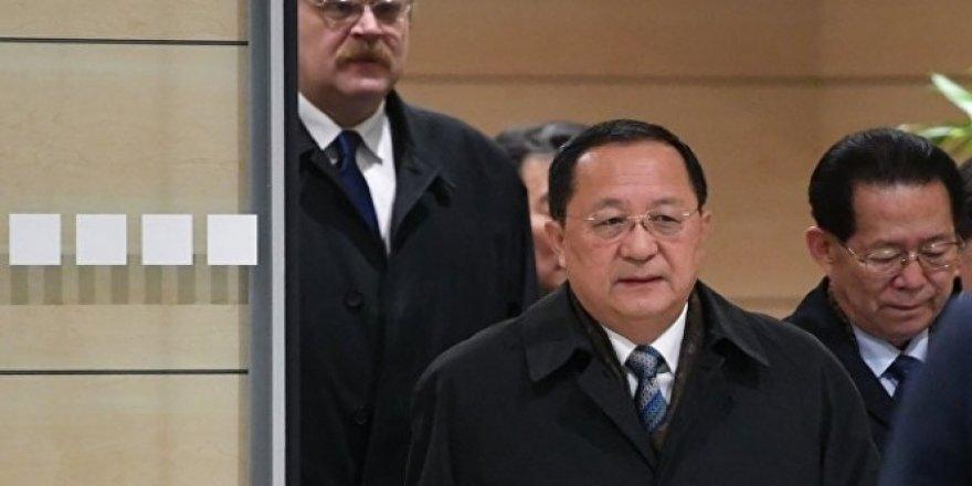 Kuzey Kore Dışişleri Bakanı Moskova'da