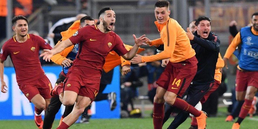 Roma yarı finalde