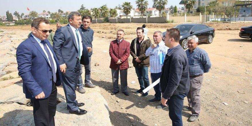 Bayramoğlu'nda çalışmalar sürüyor