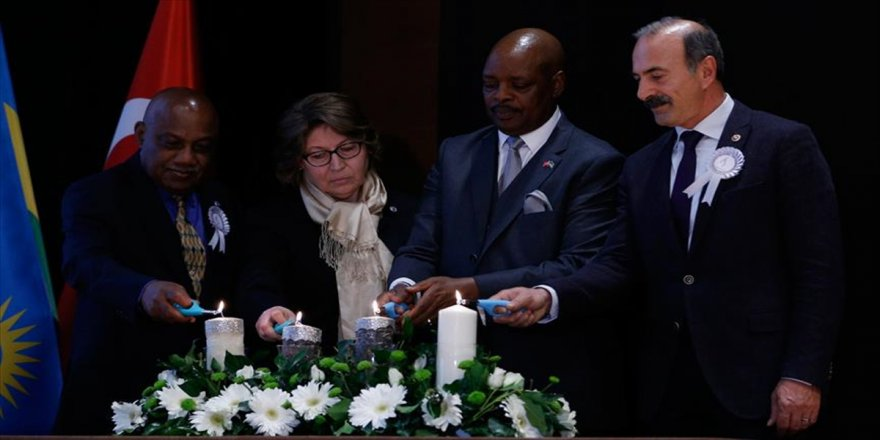 'Ruanda Soykırımı' 24. yılında anıldı