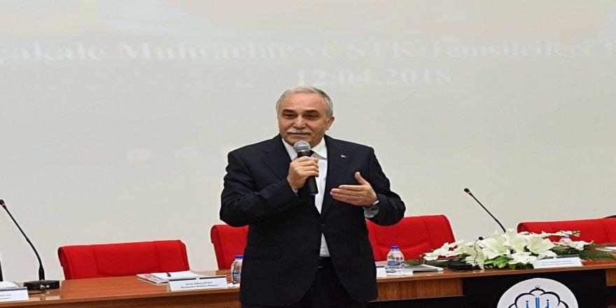 Bakan Fakıbaba'dan et açıklaması