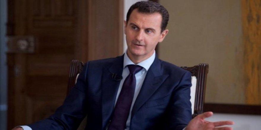 Beşar Esad'dan ABD açıklaması!
