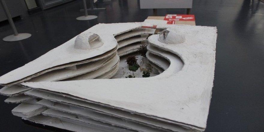 Türk öğrencilerden binlerce kişinin yaşayabileceği Mars kolonisi tasarımı