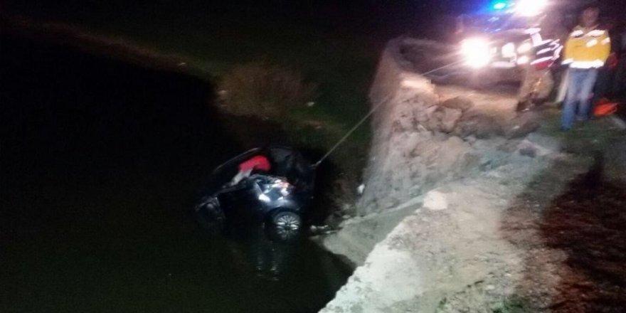Otomobil gölete düştü: 2 ölü, 2 yaralı