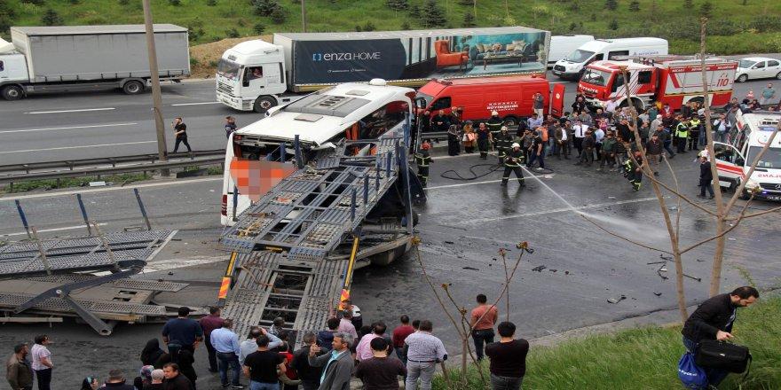 3 aylık kaza bilançosu: 722 can kaybı 60 bin yaralı