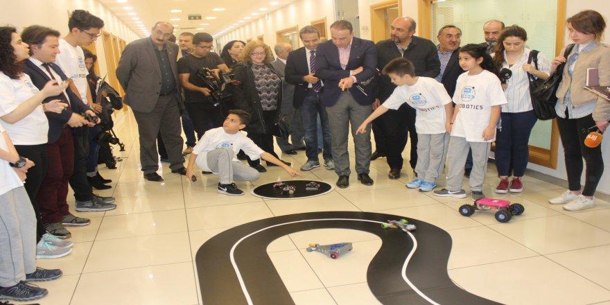 Türkiye'nin robotları yarışacak