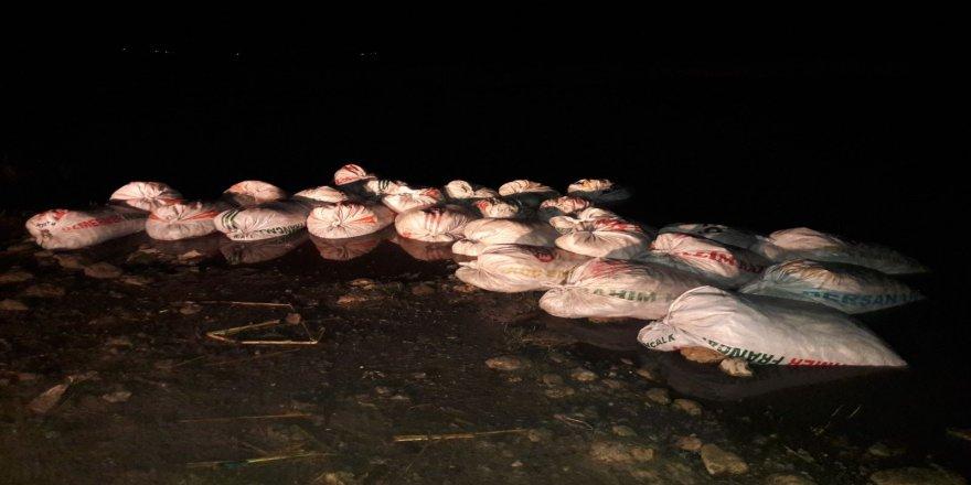 2 bin 800 kilo kaçak balık ele geçirildi