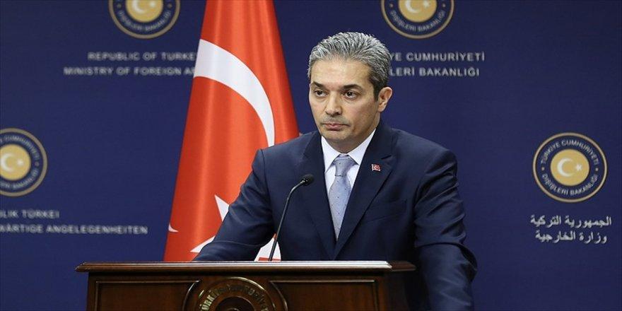 Dışişleri Bakanlığı'ndan saldırı açıklaması