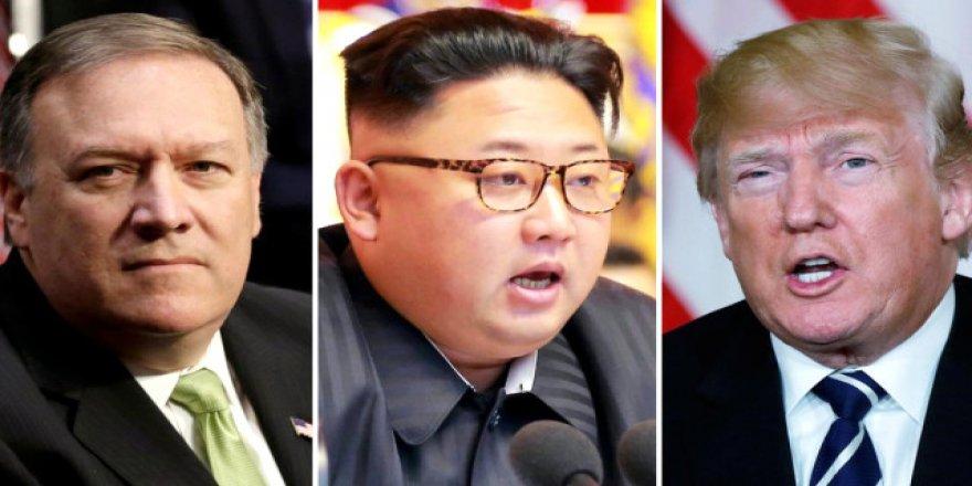 Kuzey Kore lideriyle görüşmeden tehdit etti