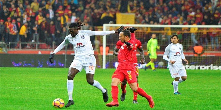 Başakşehir'in konuğu Kayserispor