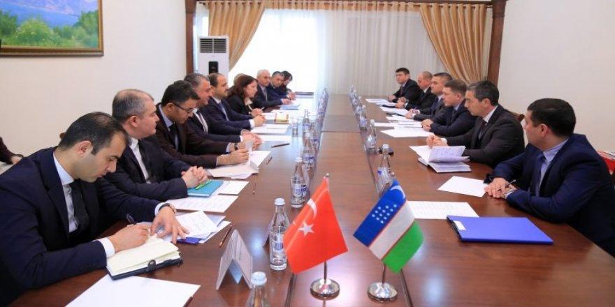 Özbekistan'la güvenlik alanında işbirliği