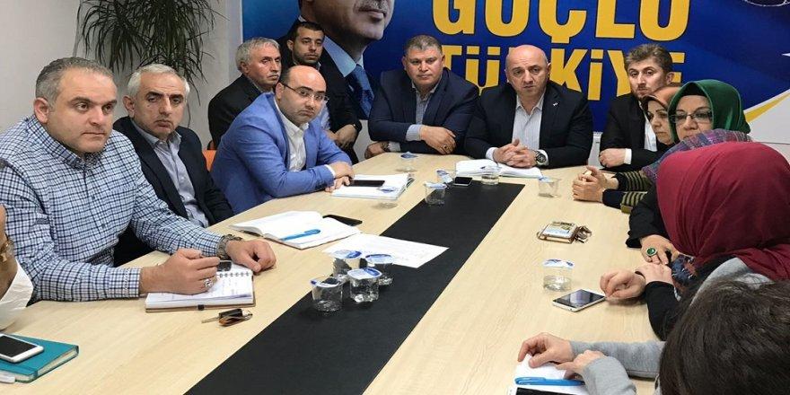 Darıca'da erken seçim toplantısı