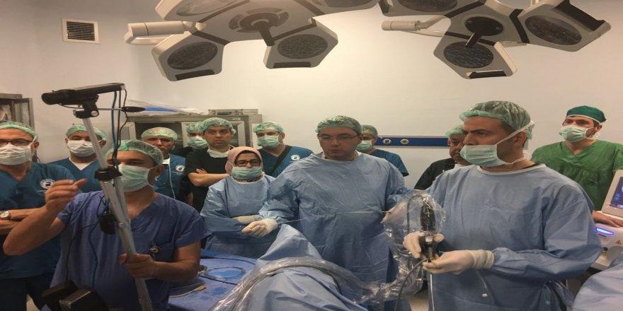 'Canlı Cerrahi' kursu yapıldı