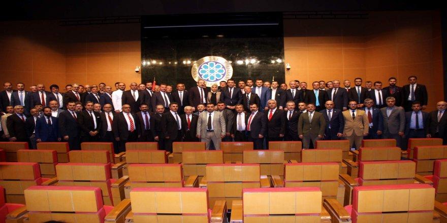 Yeni dönem ilk meclis toplantısı yapıldı