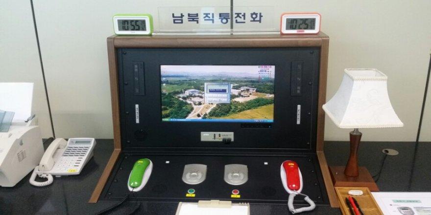 Güney ve Kuzey Kore arasında kırmızı hat açıldı