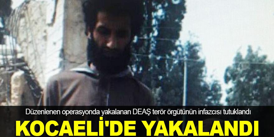 DEAŞ'ın infazcısı Kocaeli'de yakalandı
