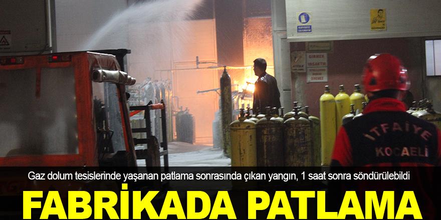 Fabrikada patlama