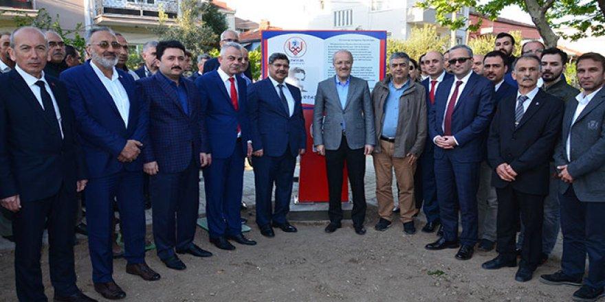 Seyit Ahmet Arvasi'nin adı parka verildi
