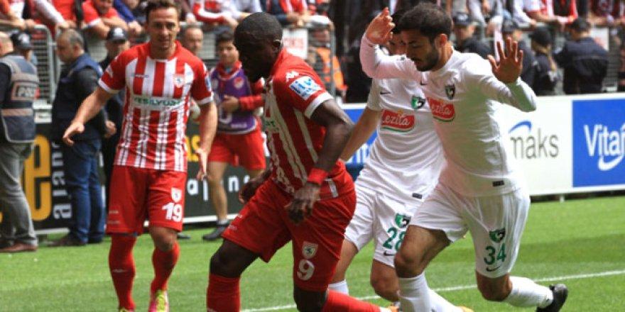 Samsunspor galibiyeti koruyamadı