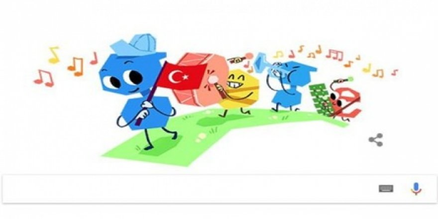 Google, 23 Nisan'ı unutmadı!