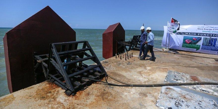 'Deniz dalgalarından' elektrik üretiyor
