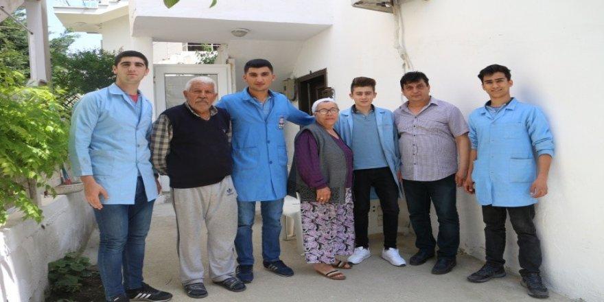 Aileleri sevindiren proje