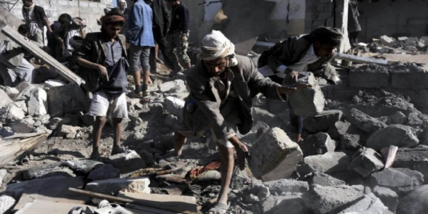 Yemen'de hava saldırısı: 13 ölü, 18 yaralı