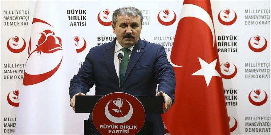 BBP'den 'İYİ Parti' açıklaması